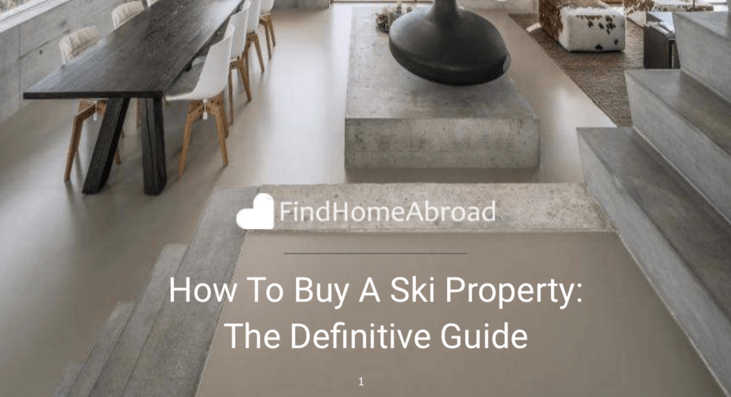 how to buy a ski property