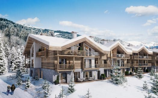 kamet les gets chalets winter