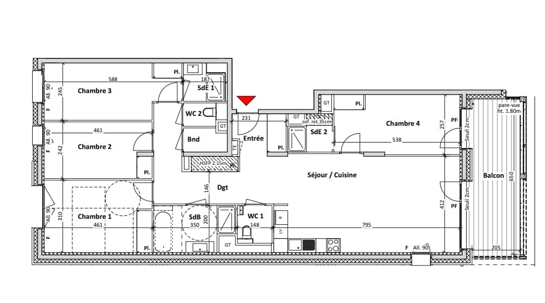 4-bed plan example